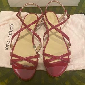 Sergio Rossi Vernice Sandals